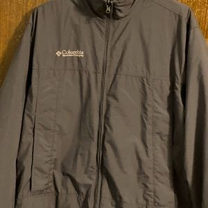 Men's Columbia Core Interchange Jacket - Gray, Med